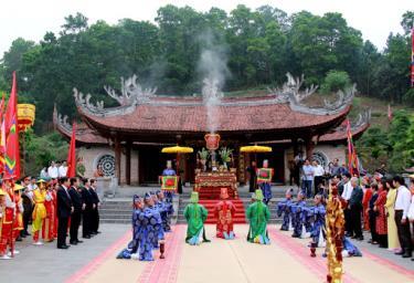 Các nghi thức tế lễ sẽ được duy trì trong Giỗ Tổ Hùng Vương - Lễ hội Đền Hùng năm 2021.
