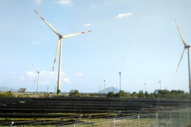 Nhà máy Điện gió Trung Nam có quy mô lớn nhất Việt Nam