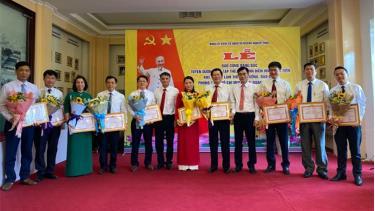 Các tập thể, cá nhân điển hình tiên tiến trong học tập và làm theo tư tưởng, đạo đức, phong cách Hồ Chí Minh giai đoạn 2016 – 2021 được Đảng ủy khối tuyên dương