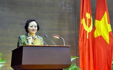 Bộ trưởng Nội vụ Phạm Thị Thanh Trà.