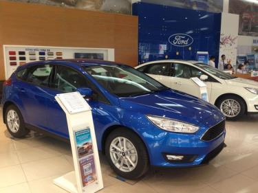 Ford Focus cũng giảm được hơn 26 triệu khi áp dụng cách tính giá trước bạ mớ