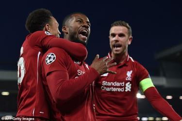 Liverpool khiến Barcelona phơi áo tới 4-0 ở Champions League