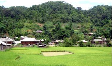 Xã Hát Lừu, huyện Trạm Tấu nằm trong số xã thực hiện Chương trình 135.