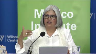 Bộ trưởng Kinh tế Mexico Graciela Marquez.