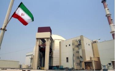 Cơ sở hạt nhân Bushehr của Iran.