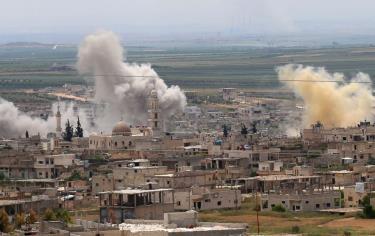 Các cuộc tấn công của quân đội Syria vào Idlib làm bùng phát căng thẳng tại khu vực.