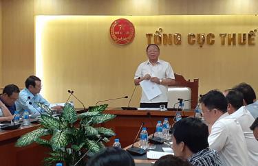 Tổng Cục trưởng Bùi Văn Nam yêu cầu 9 cục thuế khẩn trương triển khai các công việc hợp nhất để chi cục thuế khu vực có thể bắt đầu hoạt động từ ngày 1/7/2019.