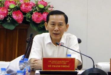Ông Võ Thành Thống, Phó Bí thư Thành ủy, Chủ tịch Ủy ban nhân dân thành phố Cần Thơ, được bổ nhiệm giữ chức vụ Thứ trưởng Bộ Kế hoạch và Đầu tư.