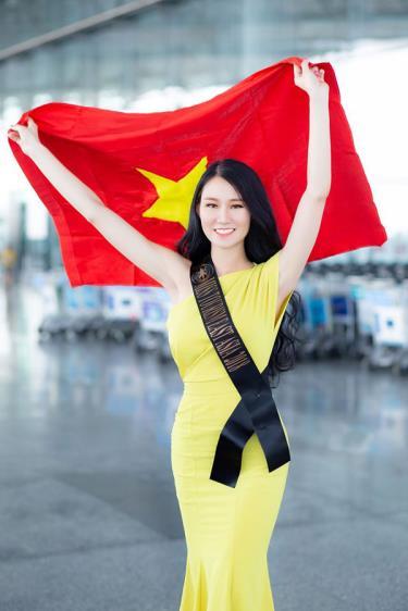 Phạm Lan Anh sẽ là đại diện của Việt Nam tại cuộc thi Hoa hậu Du lịch thế giới 2019.
