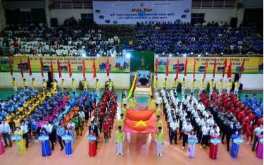 Hội thi thể thao các dân tộc thiểu số toàn quốc lần thứ XI khu vực II - 2019.