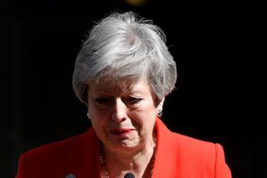 Thủ tướng Theresa May nghẹn ngào thông báo từ chức hôm 24/5
