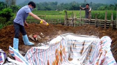 Lục Yên được cấp 222 lít thuốc sát trùng phòng chống dịch tả lợn châu Phi.
