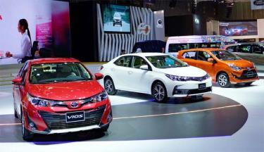 Nhiều mẫu xe giảm mạnh trong tháng 5