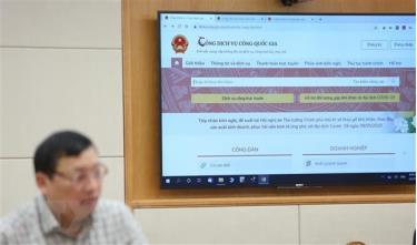 Trang thông tin hướng dẫn nộp thuế cá nhân và doanh nghiệp trên Cổng dịch vụ công Quốc gia.