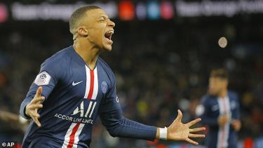 Mbappe được công nhận là Vua phá lưới Ligue 1 2019-2020