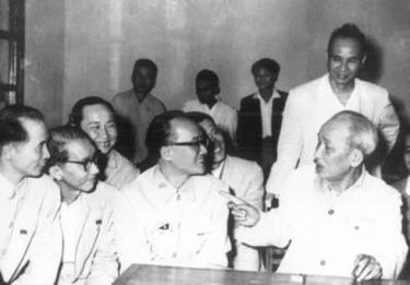 Chủ tịch Hồ Chí Minh là một hình mẫu trong tôn trọng và sử dụng nhân tài (Ảnh tư liệu)