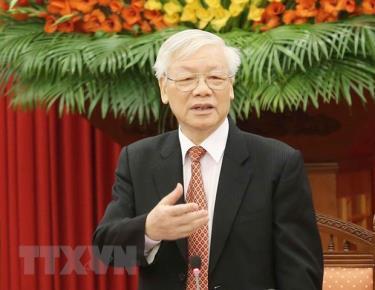 Tổng Bí thư, Chủ tịch nước Nguyễn Phú Trọng chủ trì họp Bộ Chính trị để phê duyệt quy hoạch Ban Chấp hành Trung ương khóa XIII, nhiệm kỳ 2021-2026; xem xét công tác nhân sự và quyết định thi hành kỷ luật cán bộ.