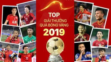 Top Giải thưởng QBV Việt Nam 2019.