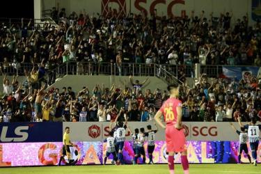 Bất ngờ lớn nhất ở vòng 1 cúp quốc gia cho đến thời điểm này xảy ra trên sân Bà Rịa