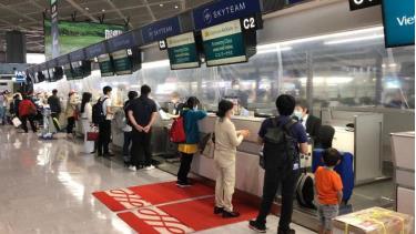 Các công dân Việt Nam tại Nhật Bản về nước. Ảnh: Bộ Ngoại giao Việt Nam.