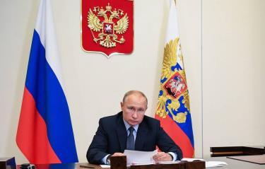 Tổng thống Nga V.Putin ký sắc lệnh ngày duyệt binh Chiến thắng 24/6 là ngày nghỉ.
