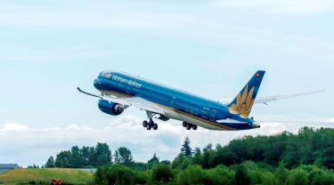 Vietnam Airlines khôi phục lại hoàn toàn số chuyến bay nội địa, chờ mở bay quốc tế sau dịch COVID-19.