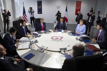 Một hội nghị của nhóm G7 hồi năm 2019.