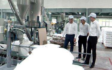 Dây chuyền sản xuất bột đá của Công ty cổ phần An Phú Inchistries.