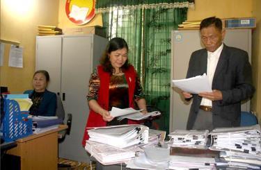 Lãnh đạo Hội Khuyến học huyện Trấn Yên triển khai công tác Hội.