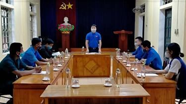 Đoàn xã Việt Thành tổ chức họp giới thiệu đoàn viên ưu tú cho Đảng.