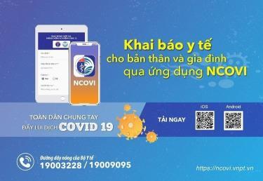 Phần mềm khai báo y tế tự nguyện toàn dân NCOVI