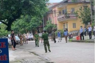 Khu vực tổ dân phố Hồng Thanh, phường Hồng Hà, thành phố Yên Bái đang tạm thời phong tỏa từ sáng nay - 6/5.