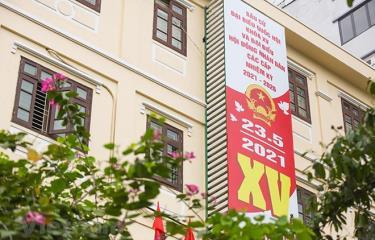 Trong ngày 23/5/2021, cả nước sẽ có 184 đơn vị bầu cử đại biểu Quốc hội khóa XV.