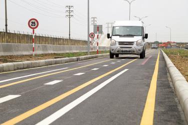 Đường thử mới của Ford Việt Nam, đáp ứng tiêu chuẩn tại Nghị định 116 đã được đưa vào sử dụng.