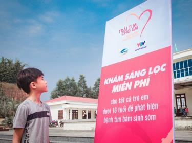 Chương trình Trái tim cho em đã phẫu thuật thành công, chữa lành bệnh cho hơn 4.500 trẻ nhỏ.