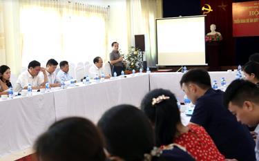 Ngành y tế thường xuyên tổ chức tập huấn cho cán bộ làm công tác phòng, chống HIV/AIDS trên địa bàn tỉnh.