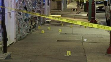 Hiện trường vụ xả súng tại Philadelphia.