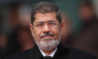 Cựu Tổng thống Morsi khi còn nắm quyền hồi đầu năm 2013.