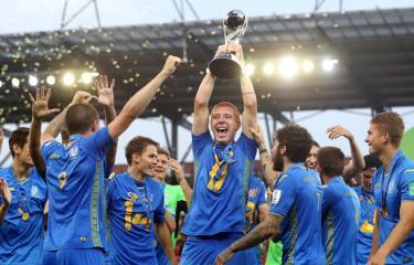 U20 Ukraine giành chứ vô địch U20 World Cup 2019.