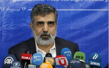Người phát ngôn của AEOI Behrouz Kamalvandi.