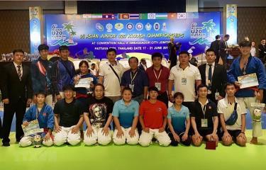 Đoàn Việt Nam tham dự Giải vô địch Kurash trẻ châu Á lần thứ sáu.