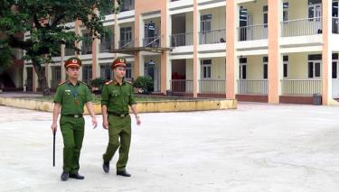 Lực lượng công an đã sẵn sàng các phương án đảm bảo an ninh trật tự, an toàn tại các điểm thi.