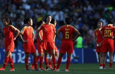 Trung Quốc bị loại khỏi World Cup 2019.