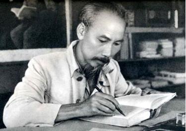 Chủ tịch Hồ Chí Minh.