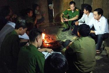 Lực lượng công an tỉnh Yên Bái tăng cường tuyên truyền, phổ biến pháp luật đến đồng bào vùng cao.