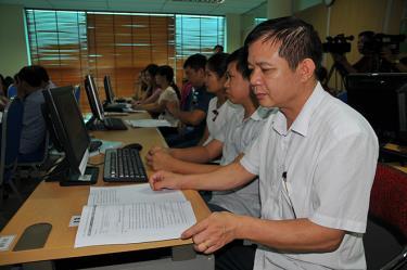 Cục Thuế tỉnh bồi dưỡng nghiệp vụ cho cán bộ, công chức.