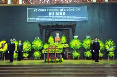 Lễ tang nguyên Chủ nhiệm Văn phòng Quốc hội Vũ Mão theo nghi thức cấp cao được tổ chức từ 7h sáng nay, 3/6.