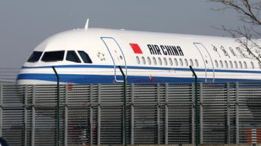 Một chiếc máy bay A320 của Hãng hàng không Air China của Trung Quốc