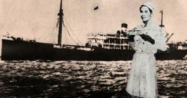Tàu Latouche Treville, con tàu đã đưa người thanh niên yêu nước Nguyễn Tất Thành ra đi tìm đường cứu nước. (Ảnh tư liệu)