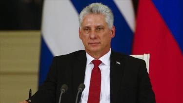 Chủ tịch Cuba Miguel Diaz-Canel Bermudez.